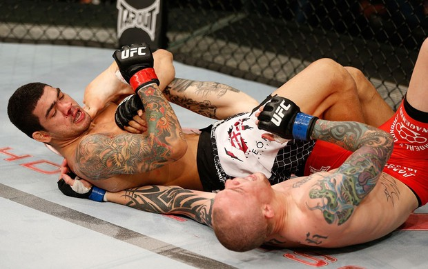 MMA Anthony Smith e Braga Neto (Foto: Agência Getty Images)