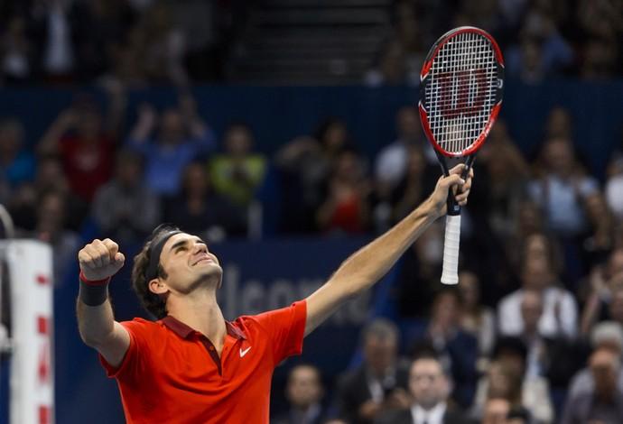 tenis roger federer basileia (Foto: AFP)