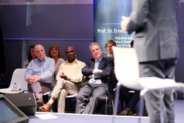 Finalistas reunidos no evento DSM Bright Minds Challende (Foto: Divulgação/DSM)