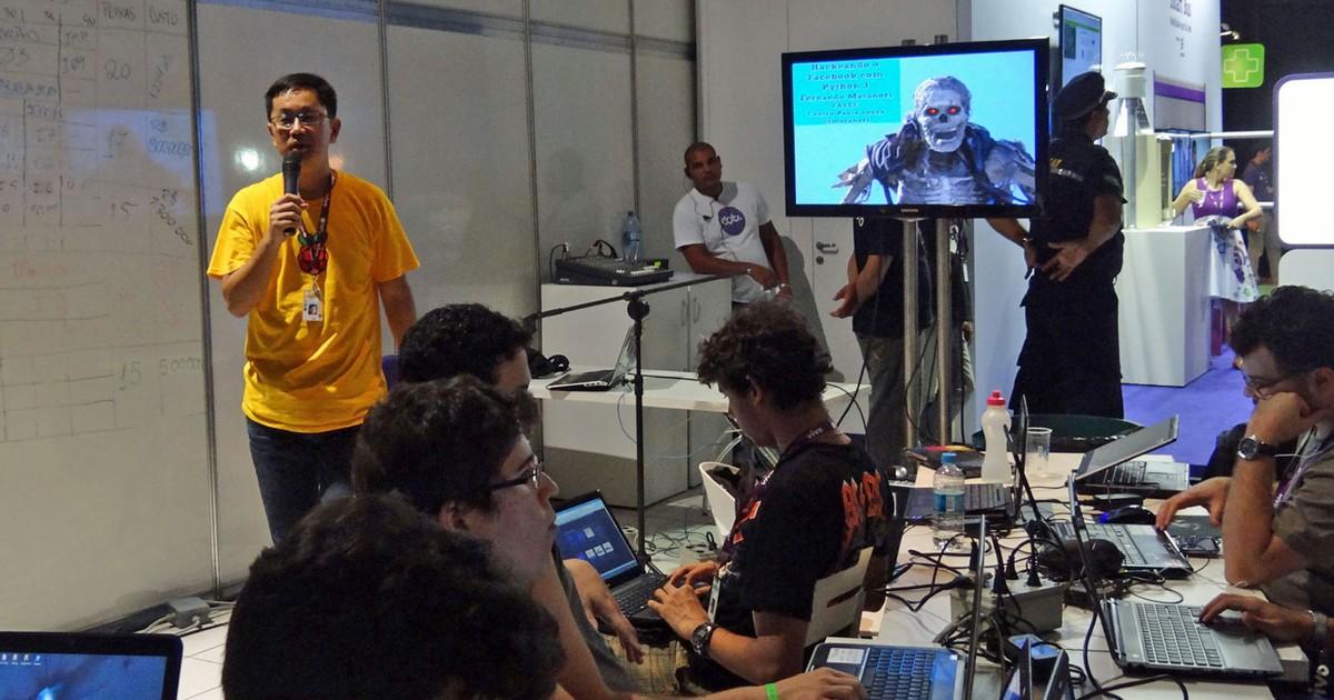 Especialista ensina a 'hackear' Facebook e Twitter na Campus Party