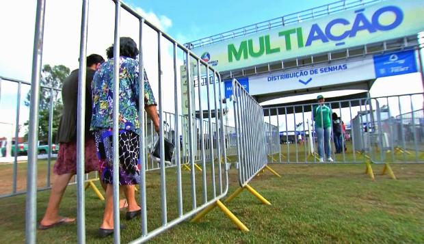 Bairro Jardim Vitória recebe o projeto Multiação (Foto: Reprodução/TVCA)