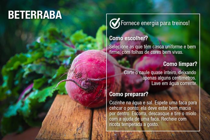 Beterraba é um tubérculo delicioso e, também, super nutritivo (Foto: Divulgação)