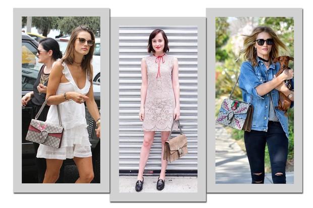 Alerta de it-bag: bolsa Dionysus da Gucci é a preferida das celebridades (Foto: Reprodução)