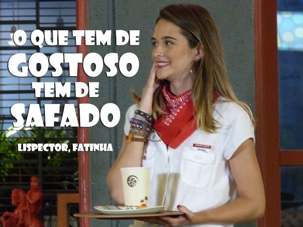 Fatinha é muito engraçada!!! (Foto: Malhação / TV Globo)
