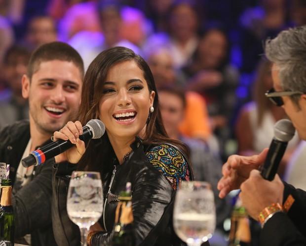 Anitta e Daniel Rocha são jurados do Amor & Sexo (Foto: Carol Caminha/Gshow)