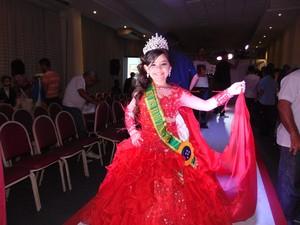 Mini Miss Brasil 2015, Letícia Gabrielle (Foto: Arquivo Pessoal)