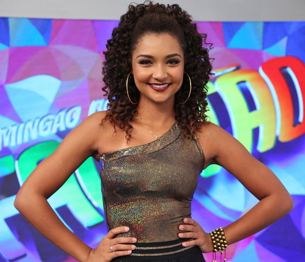 Francielle Pimenta também entrou no Balé pelo concurso do 'Domingão' (Foto: Carol Caminha / Gshow)