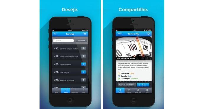 Tysdo é um app que ajuda a realizar desejos (Foto: Divulgação)
