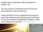 Segurança é demitido após agredir criança dentro de padaria em Cuiabá