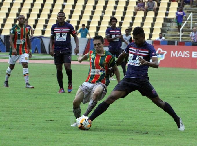MAC e Sampaio ficam na igualdade no jogo de volta pela semifinal do 1º turno do Maranhense (Foto: De Jesus/O Estado)