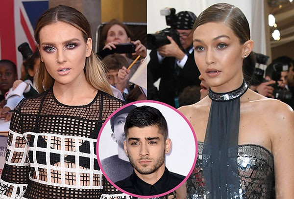 Zayn malik, Perrie Edwards e Gigi Hadid (Foto: Getty Images)