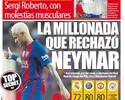 Neymar recusou quatro gigantes para renovar com Barcelona, afirma jornal