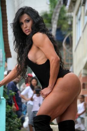Gracyanne Barbosa (Foto: Daniel Delmiro / AgNews)