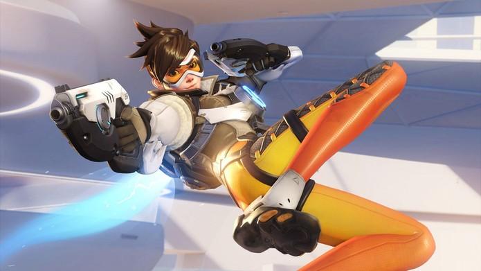 Tracer é uma das personagens em Overwatch (Foto: Divulgação/Blizzard) (Foto: Tracer é uma das personagens em Overwatch (Foto: Divulgação/Blizzard))