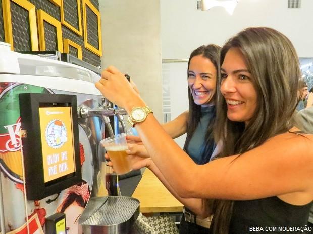 Cervejeiros Choperia Eletrônica Self-Service (Foto: Divulgação myTapp)
