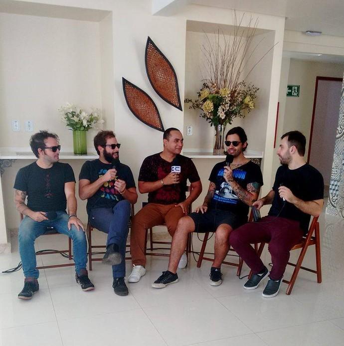 Banda Fresno é uma das atrações desse sábado, 5 (Foto: Fernanda Pinheiro)