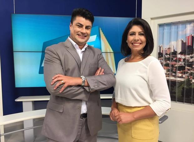 Fernando e Vanessa Carlos apresentam o MGVT 1ª edição (Foto: Raul Neto)