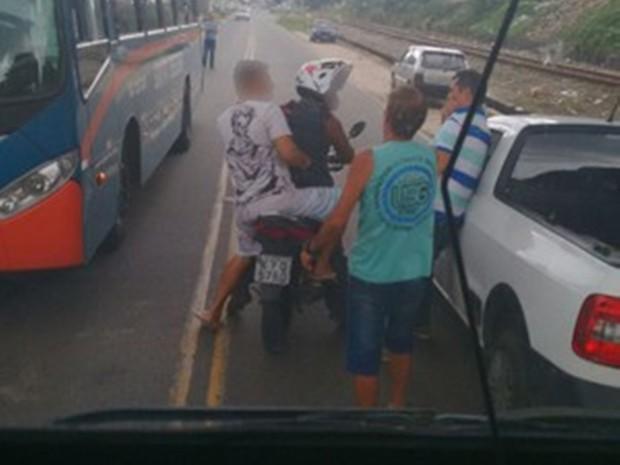 Vereador é morto por ocupantes de motocicleta durante discussão de trânsito no interior do RJ (Foto: Reprodução EPTV)