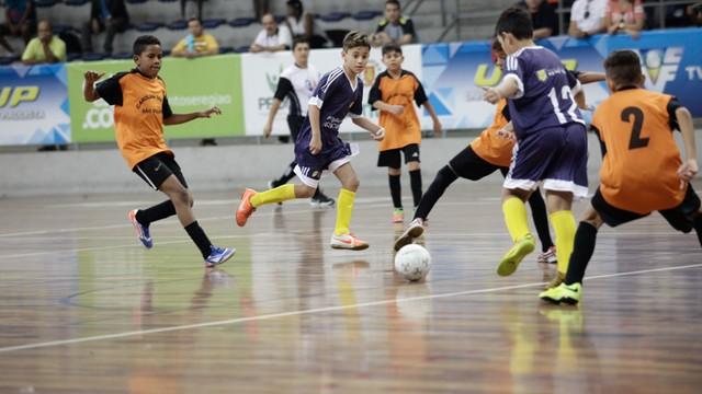 13ª edição da Copa TV Tribuna de Futsal Escolar (Foto: Ivan Perreira)
