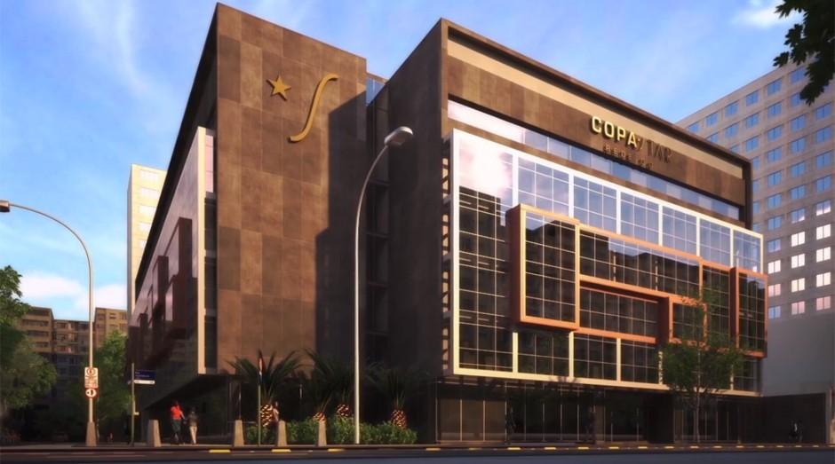 CopaStar: hospital oferece serviço cinco estrelas (Foto: Reprodução)