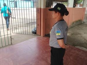 Nova licitação vai refletir no salário dos vigilantes em escolas do Amapá (Foto: Abinoan Santiago/G1)