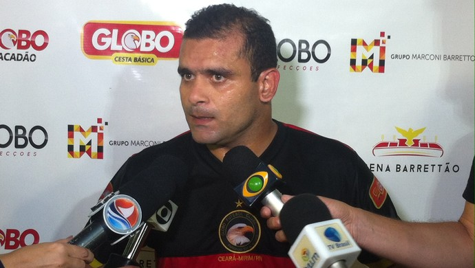 Globo FC - Renatinho Potiguar - meia (Foto: Luiz Henrique/GloboEsporte.com)