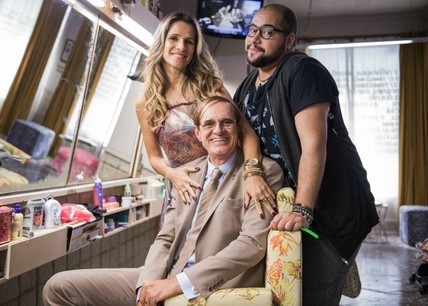 Marcos Caruso estreia no seriado como pai de Marlene (Foto: Globo/ Caiuá Franco )