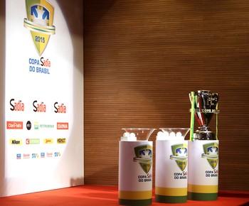 Sorteio copa do brasil 2015 (Foto: Rafael Ribeiro / CBF)