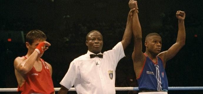Floyd Mayweather, Olimpiadas de Atlanta 1996 (Foto: Getty Images)