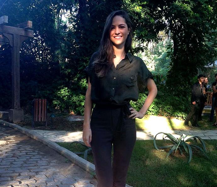 Consultora de moda Flávia Piña deu dicas no É de Casa (Foto: Monique Salgueiro / Gshow)