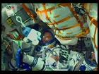 Foguete com três astronautas é lançado rumo à Estação Espacial