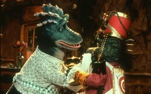 """Fran e Bobby """"Família Dinossauros"""""""