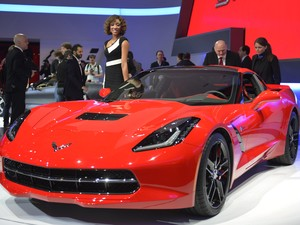 Chevrolet Corvette Stringray (Foto: Sebastien Feval/AFP)