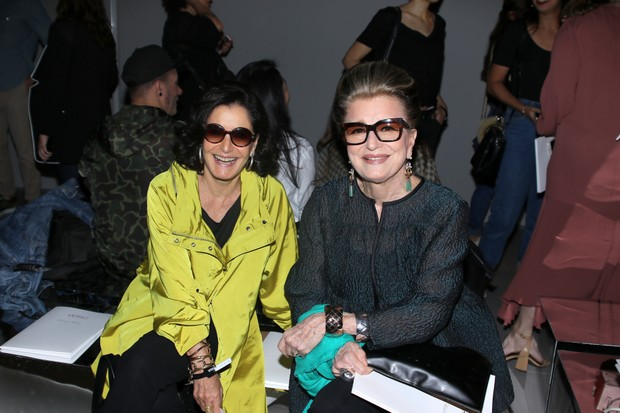 Glória Kalil e Costanza Pascolato (Foto: Thiago Duran/AgNews)