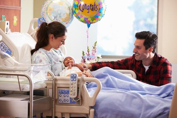 Pós-parto no hospital (Foto: Thinkstock)