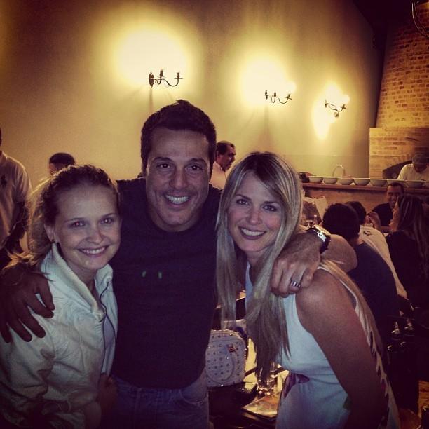 Fernanda Rodrigues, Julio Cesar e Susana Werner (Foto: Instagram / Reprodução)