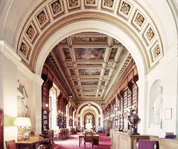As 13 bibliotecas mais lindas do mundo (Foto: Franck Bohbot)