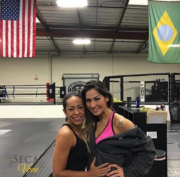 Mayra Cardi e Samantha Schmütz (Foto: Reprodução/ Instagram)
