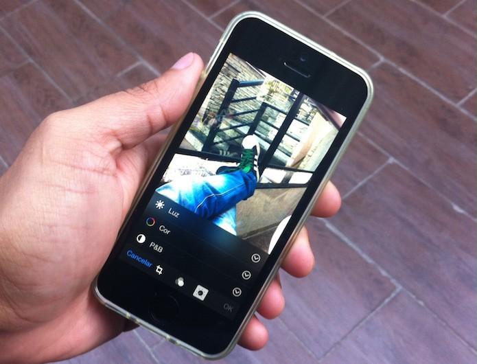 Como ocultar imagens no aplicativo Fotos do iOS 8? (Foto: Marvin Costa/TechTudo)
