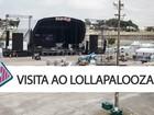Lollapalooza tem piso contra lama e palco eletrônico maior; veja vídeo