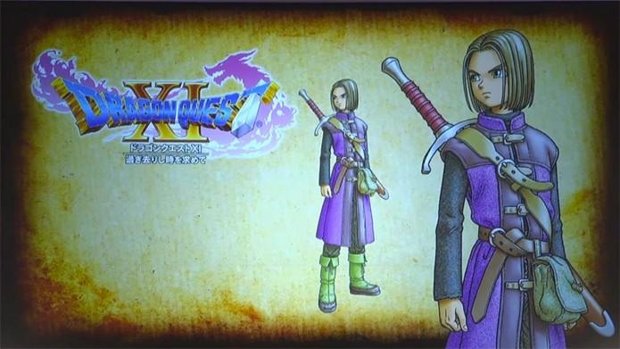 Dragon Quest 11 chega em 2016 para PS4 e 3DS (Foto: Divulgação)
