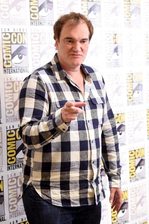 Quentin Tarantino deu uma tremenda bronca em um jornalista inglês (Foto: Getty Images)
