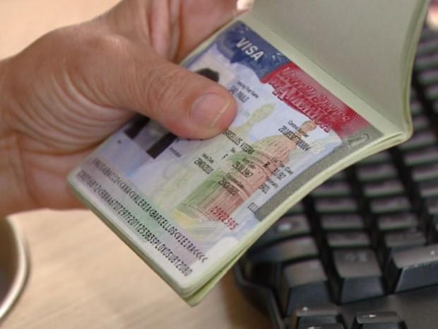 Busca por visto para os Estados Unidos teve aumento em Campinas (Foto: Reprodução/EPTV)