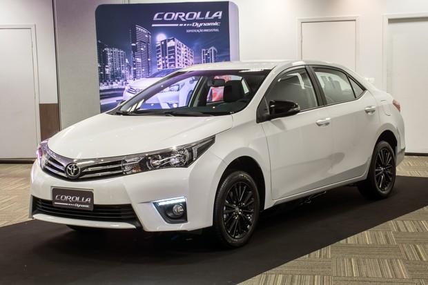 Toyota Corolla Dynamic (Foto: divulgação)