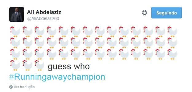 Ali Abdelaziz twitter (Foto: Reprodução / Twitter)