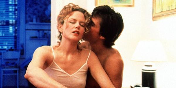 Nicole Kidman e Tom Cruise em cena de De Olhos Bem Fechados (1999) (Foto: Reprodução)