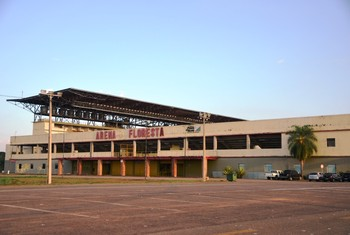 Arena da Floresta (Foto: Duaine Rodrigues)