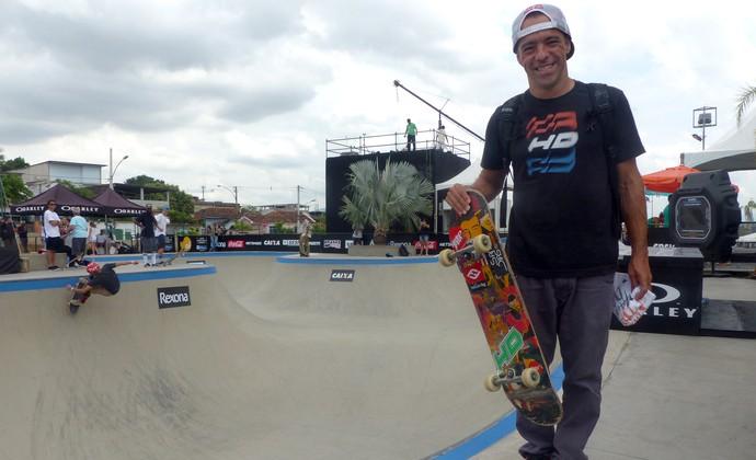 """Mundial de skate Bowl Sandro Dias """"Mineirinho"""" (Foto: Flávio Dilascio)"""