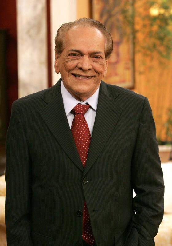 Lúcio Mauro, que fará 90 anos no dia 14, será homenageado em prêmio de humor (Foto: Reprodução)