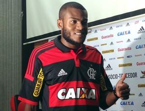 Apresentação Marcelo Cirino Flamengo (Foto: Vicente Seda)